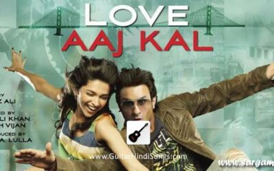Aaj Din Chadheya | Guitar | Chords | Love Aaj Kal